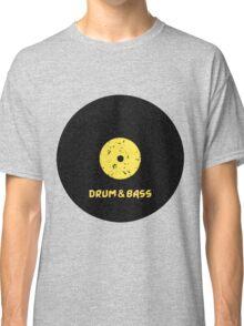 Drum & Bass (Vinyl) Classic T-Shirt