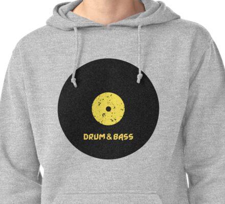 Drum & Bass (Vinyl) Pullover Hoodie