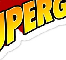 SUPERGEEK! Sticker