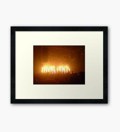Flame on!! Framed Print