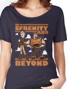 Serenity and Beyond Women's Relaxed Fit T-Shirt