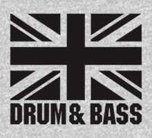 UK DRUM AND BASS Kids Clothes