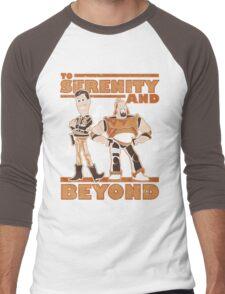 Serenity and Beyond Men's Baseball ¾ T-Shirt