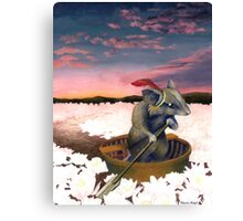 Reepicheep's Last Voyage (From Narnia) Canvas Print