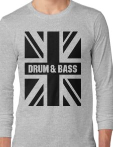 DRUM AND BASS UK Long Sleeve T-Shirt