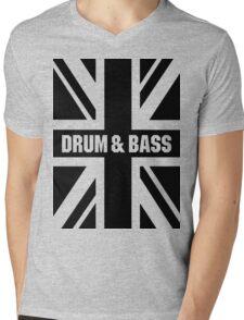 DRUM AND BASS UK Mens V-Neck T-Shirt