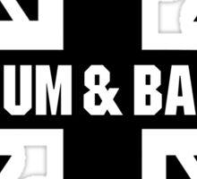 DRUM AND BASS UK Sticker