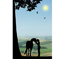 Childhood Dreams - The Pony Photographic Print