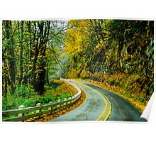 Oregon Old Highway 30 Poster