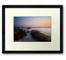Earth & Ocean Framed Print