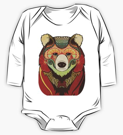 The Bear One Piece - Long Sleeve
