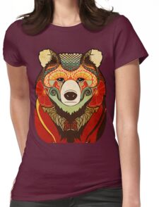 The Bear Womens Fitted T-Shirt
