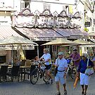 Bicycles And Baguettes In Antibes by Fara