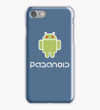 paranoid iPhone Case/Skin
