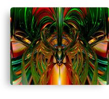 Chinese Dragon Smile Fx  Canvas Print
