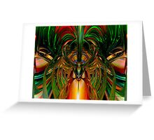 Chinese Dragon Smile Fx  Greeting Card