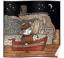 Dawn & Dinky (Dunbar Harbour) Poster