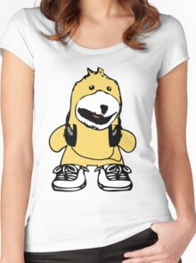 Mr. Oizo - Flat Eric Women's Fitted Scoop T-Shirt