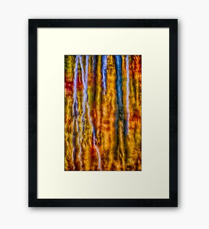 Fall in Decay Framed Print