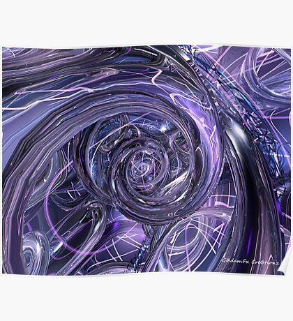 Eternal Depth of Abstract Fx  Poster