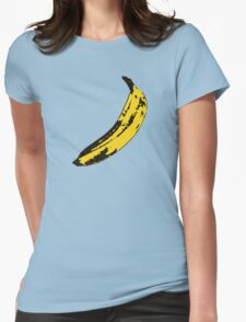 Banana Andy Warhol for scale Womens Fitted T-Shirt