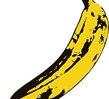 Banana Andy Warhol for scale by Kampli