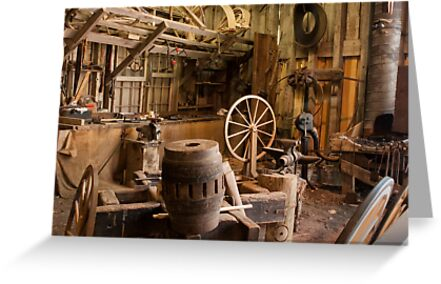 Wheelwright Shop by Joe Saladino