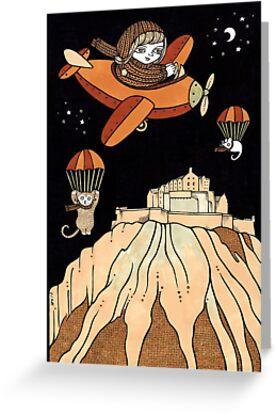 Elenors Empennage (Edinburgh Castle) by Anita Inverarity