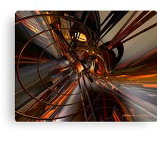 Abstructured Infuzion Fx  Canvas Print