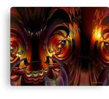 LsD Dragon Inside Out Fx  Canvas Print