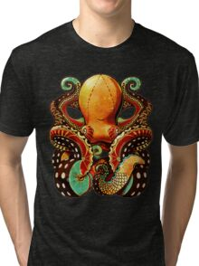 the octopus Tri-blend T-Shirt