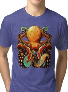 the octopus Tri-blend T-Shirt