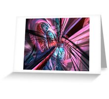 Nu Colorfast Fx  Greeting Card