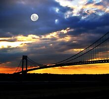 Verrazano Bridge by Barbny