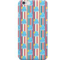 Flower Octopus Striped Pattern iPhone Case/Skin