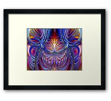 Sacred Heart Burning Desire Fx  Framed Print