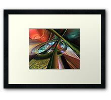 Fast Color Picasso Fx  Framed Print