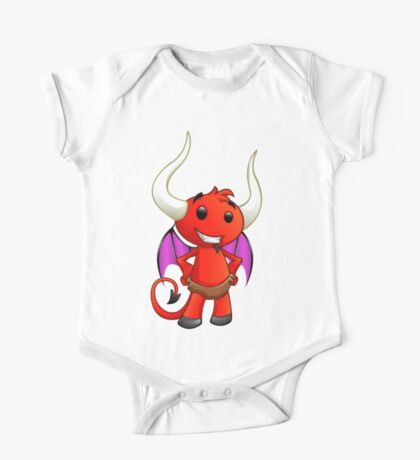 Devil Character - Hands On Hips - 2 One Piece - Short Sleeve
