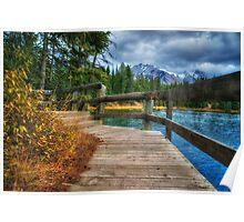 Walk Around The Lake Poster