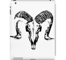 Death in the Simplest of Forms iPad Case/Skin