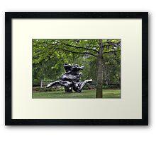 Standing Figure Framed Print