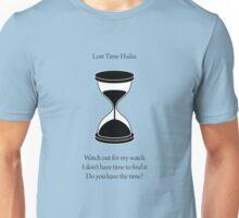Lost Time Haiku Unisex T-Shirt