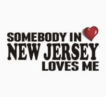 Somebody In New Jersey Loves Me Kids Clothes
