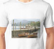 Boats, Derwentwater, Lake District Unisex T-Shirt