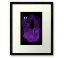 Enderman Framed Print