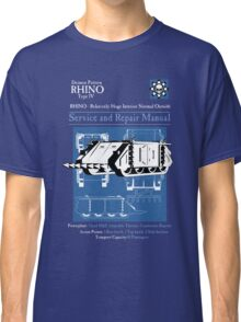 RHINO - Relatively Huge Interior Normal Outside Classic T-Shirt