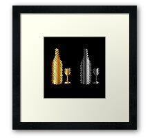 Beverage icon Framed Print