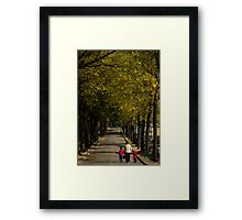 Generation path Framed Print