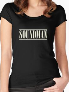 Vintage Soundman Women's Fitted Scoop T-Shirt