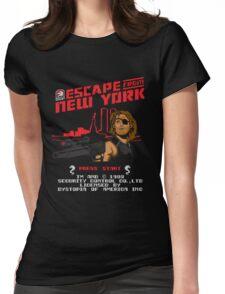 8-Bit Eyepatch   Womens Fitted T-Shirt